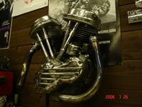 '53年 PANHEAD FL1200 50周年記念車 組み上げ